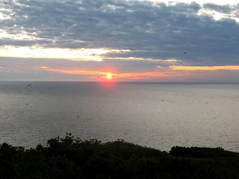 Umara Island sunset.