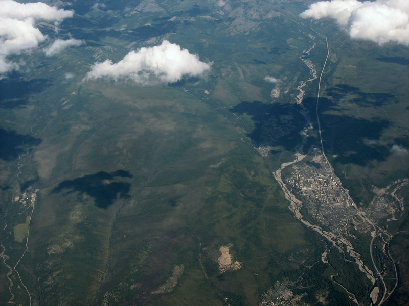 Magadan from above.