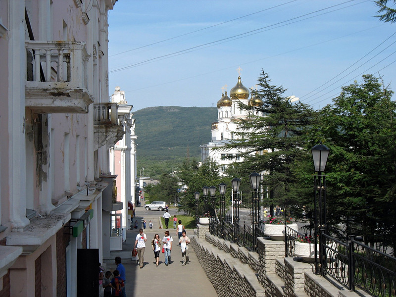 Magadan street.