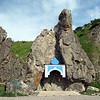 Chapel in the rock. (Cape Nuklya)