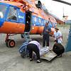 Medical evacuation from Susuman Airfield. (Magadan)