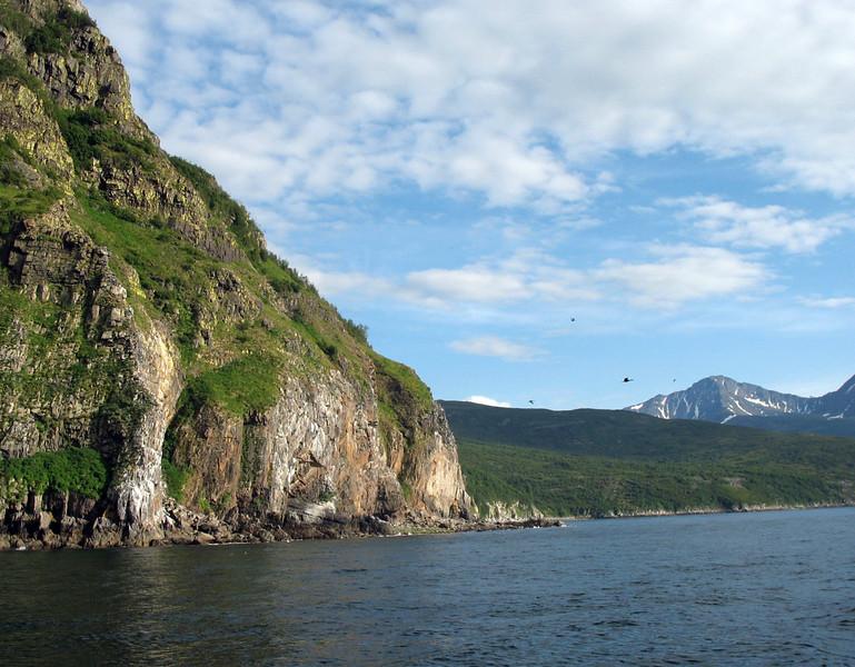 Koni Peninsula. (Russian Far East)