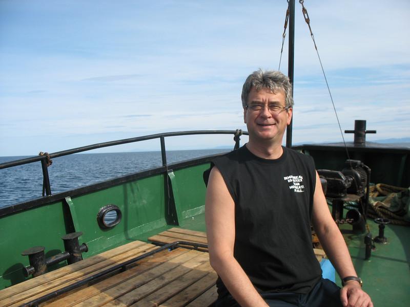 On board. (Sea of Okhotsk.)