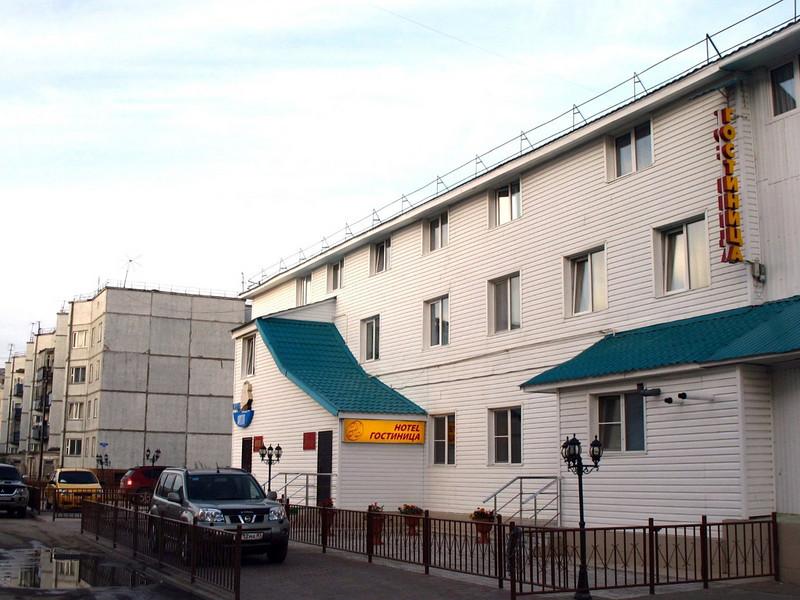 Our base, Hotel Natalie. (Nar'yan-Mar, Russia)