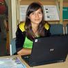 Computer class at Nar'yan-Mar Boarding School.