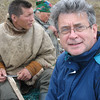 With Yamp-to Nenets reindeer herder on the tundra.