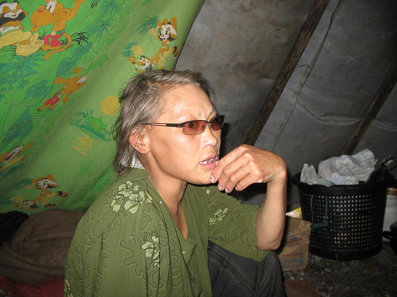 Daria, Karatayka Nenets woman.