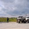 South Khylchuyu oil field security.