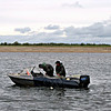 Fishing on the Pechora River.