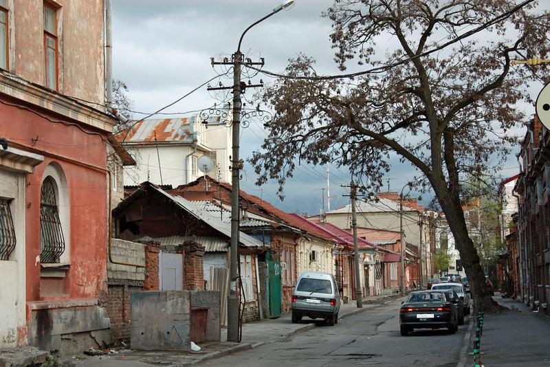 Vladikavkaz sidestreet.