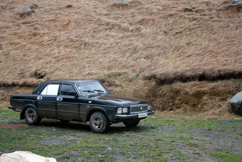 Varziev's car.