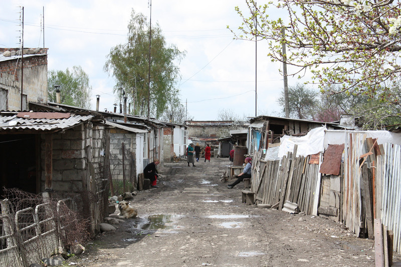 There are more than 11,000 refugees scattered throughout North Ossetia.