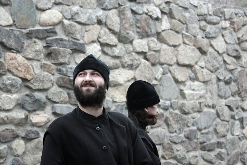 Monastery priests.