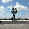 The cemetery's Tree of Grief Monument. (Beslan)
