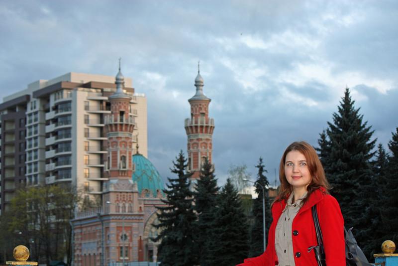 Ulyana in Vladikavkaz.