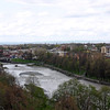 The Terek River in Vladikavkaz.
