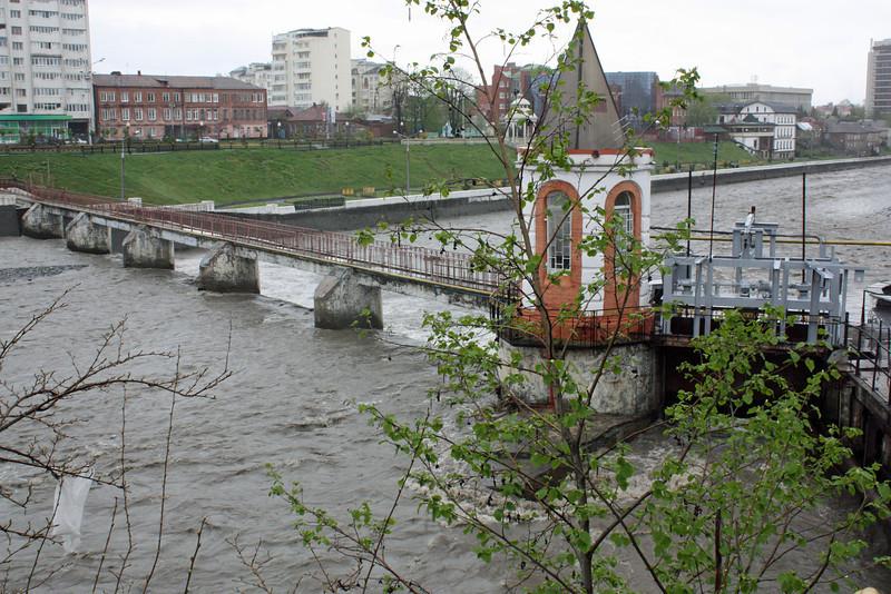 Terek River, Vladikavkaz.