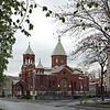 The Armenian Church in Vladikavkaz.