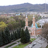 The main mosque seen from my hotel room in Vladikavkaz.