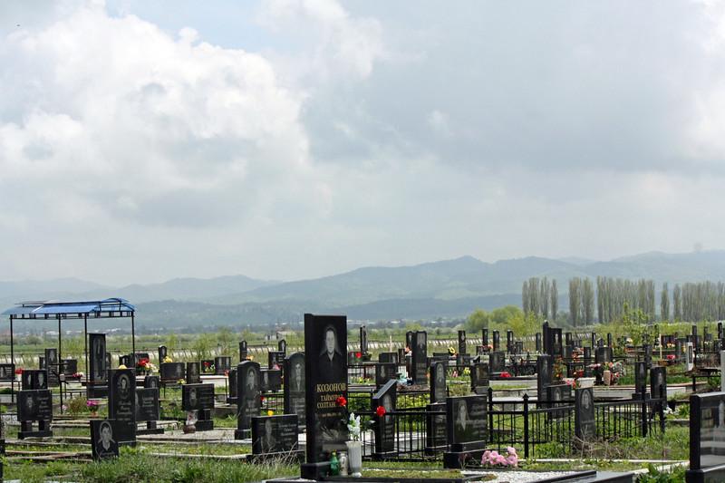 Кимбилеевская. Кладбище. Пригородный район.