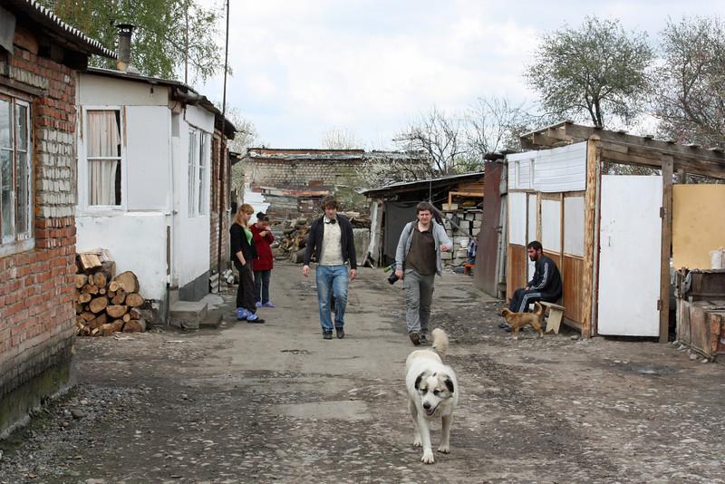 Kambileevskoe refugee camp.