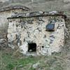 Skull in a Dargavs tomb. Склеп в городе мёртвых.