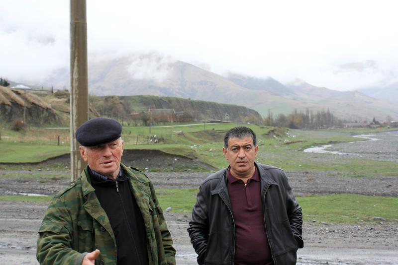 Два Руковдителя из Даргавса: Сослан ( слева) - бывший и Олег (справа) - нынешний.