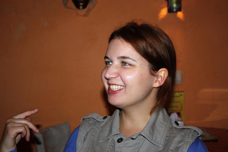 Ulyana Goncharova, Rusiya Al-Yaum producer.