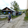 Russian village life.