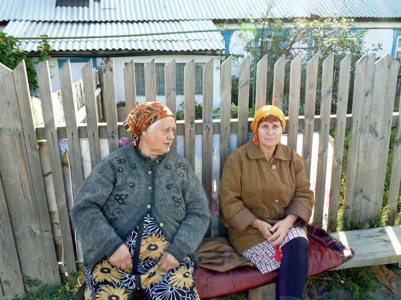 Village ladies.