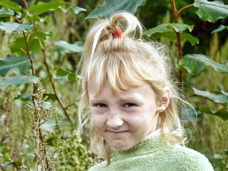 Village girl.