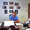 Главрач Федерального кардихирургического центра в Пензе доктор Базылев. Dr. Bazilev, chief doctor at the Federal Cardiology Center.