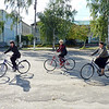 The Governor's encouraging fitness in the region & these ladies have taken to riding their bikes.