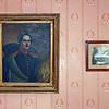 Portrait of Mikhail Lermontov.