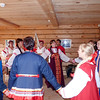 Traditional Russian peasant dancing.