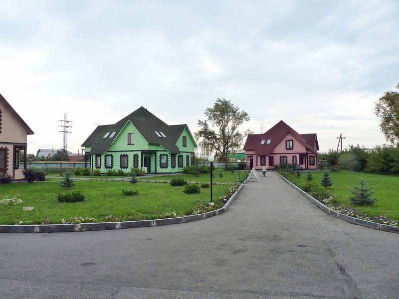 "The ""Provincia"" cottage complex."