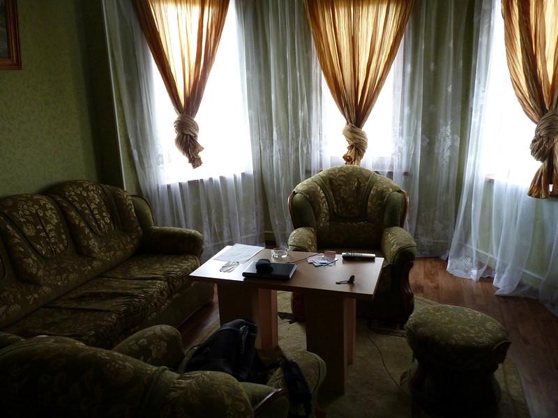 """Cottage livingroom. В номерах гостиницы """"Провинция""""."""