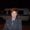 Penza cop on curfew night patrol.