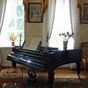 Music room at Lermontov's Tarkhany estate.