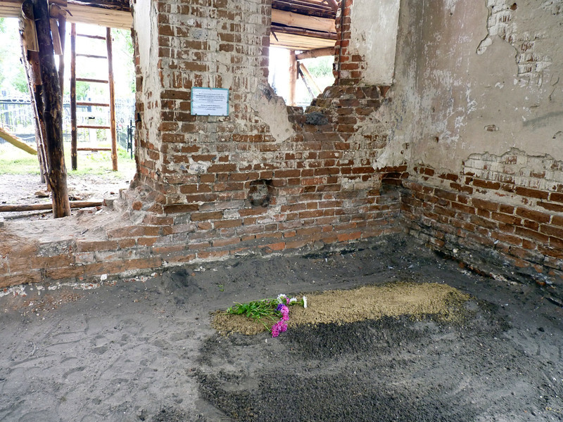 A body of one of the Kurakin family members was recently fund during the restoration.