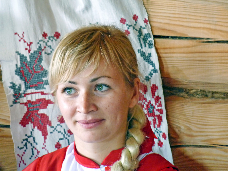 Traditional Russian beauty.