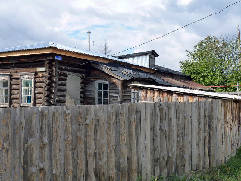 This is the house Rustem remembers from his childhood, though the family no longer resides here.