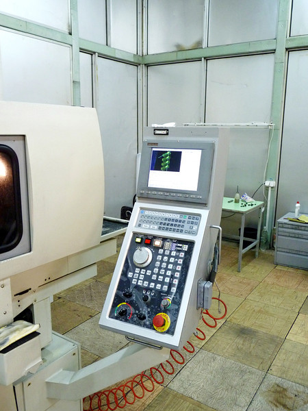 Testing equipment at CardiaMed.