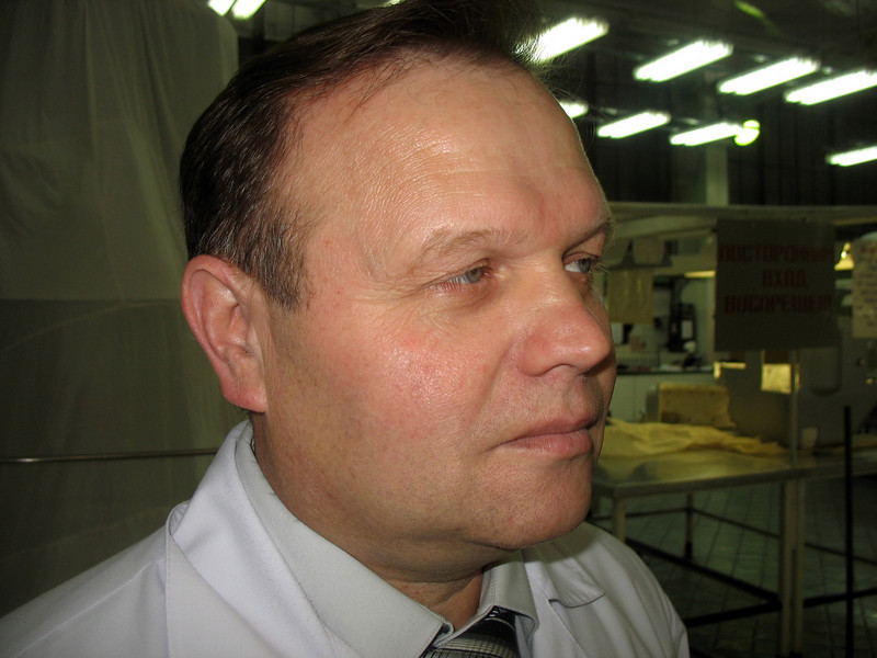 "Head of Proton-PM's assembly line. Начальник сборочного цеха на ""Протоне-ПМ""."