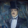 Portrait of Serge Diaghilev, founder of the Ballet Russes. A hometown boy made good.