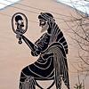 Два Гомера... Символ современной эпохи, докатились. Уличное искусство Перми, работа украинского автора.