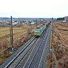 Train passing through Kungur, Russia. (Northern Urals, Russia)<br /> <br /> Урал....