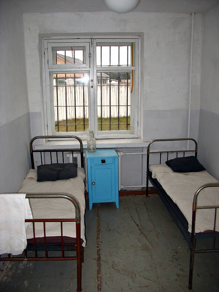 This restored cell accommodates teachers & visiting researchers. (Perm 36)