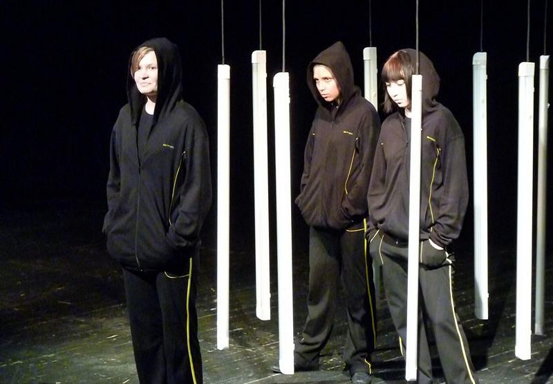"Contemporary drama at the 'Scene Hammer' theater. <br /> <br /> Спектакль ""Наташины мечты"" на сцене театра современной драмы ""Сцена-Молот""."