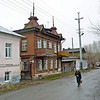 On the street in Kungur. (Northern Urals, Perm Region, Russia)<br /> <br /> Купеческие домики на улицах Кунгура.